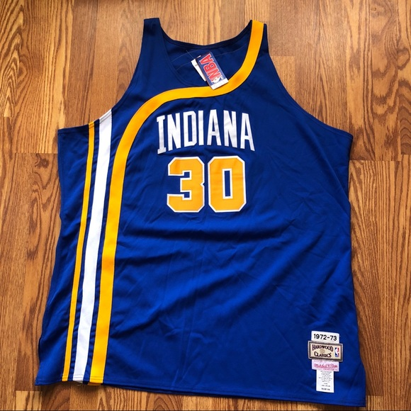 check out a8de2 c8982 Vtg Mitchell & Ness Indiana Pacers McGinnis Jersey